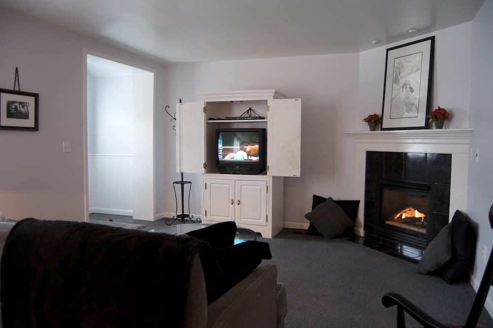 Apartmá, soukromá koupelna (The Skylar Suite) - Obývací pokoj