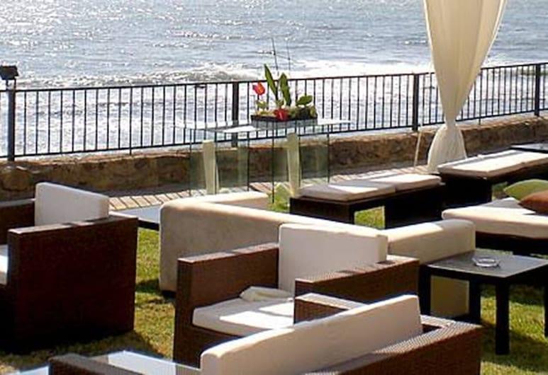 California Villas y Hotel, Ensenada, Terrasse/veranda