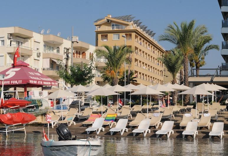Mert Seaside Hotel - All Inclusive, Marmaris, Paplūdimys