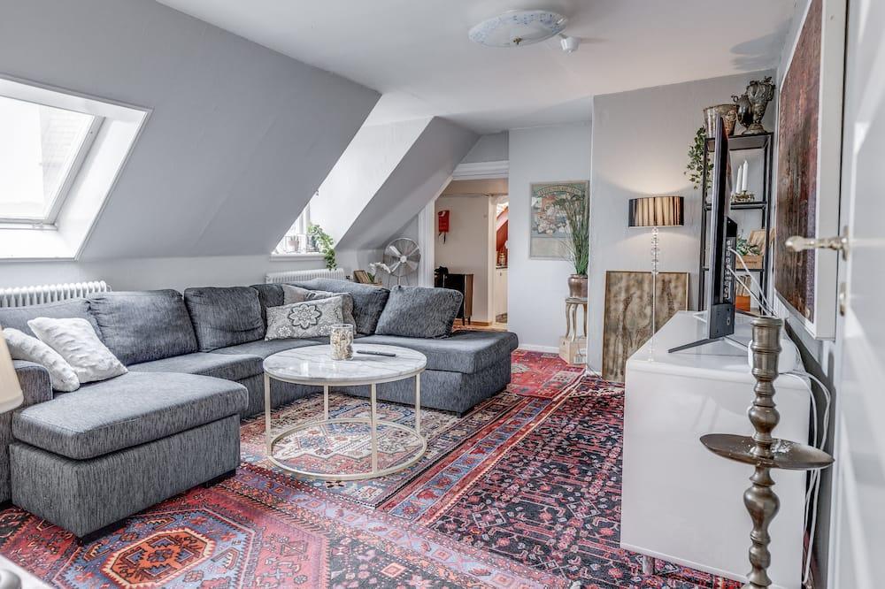 Семейная квартира (Utan frukost och Städning) - Зона гостиной