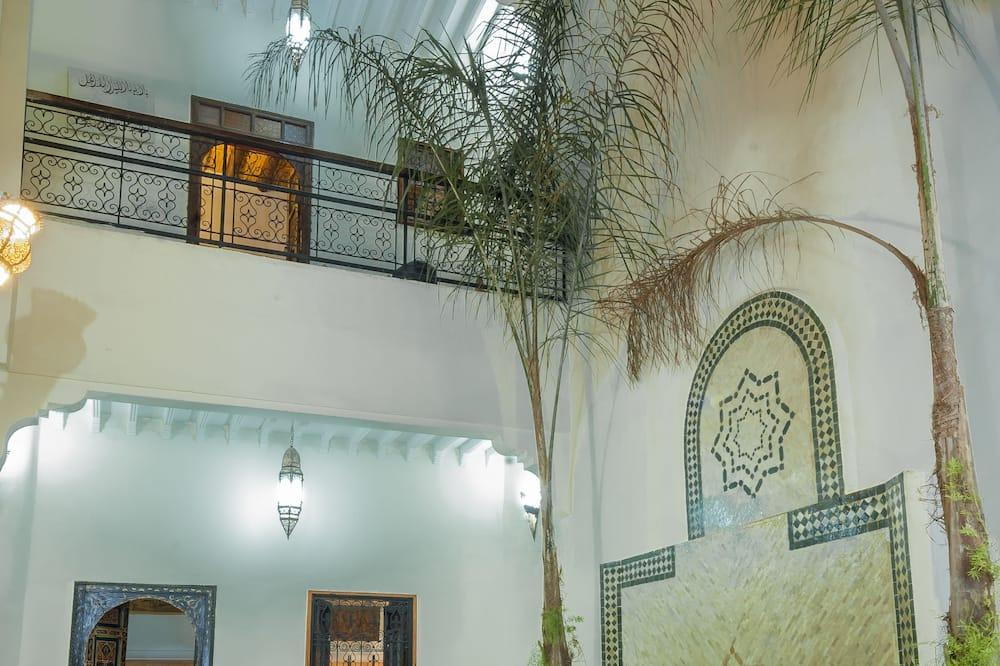 Riad en location privatif - リビング エリア
