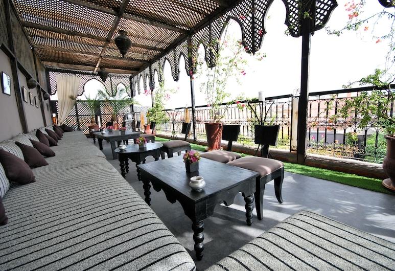 里亞德特拉巴伊亞酒店, 馬拉喀什, 酒店酒廊