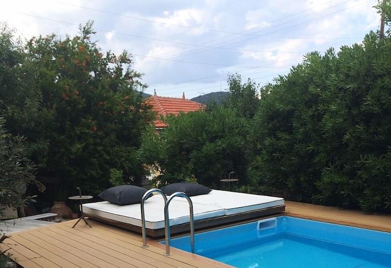 Villa Thermi, Lesvos, Villa, 2 habitaciones, Terraza o patio