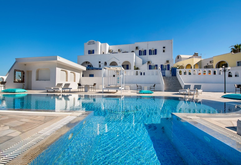 Villa Kavallaris & Apartments, Santorini, Pool