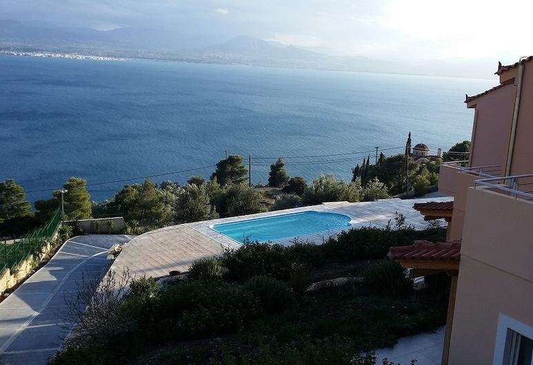 Aegean View Villa, Loutraki-Agioi Theodoroi, Краєвид із помешкання