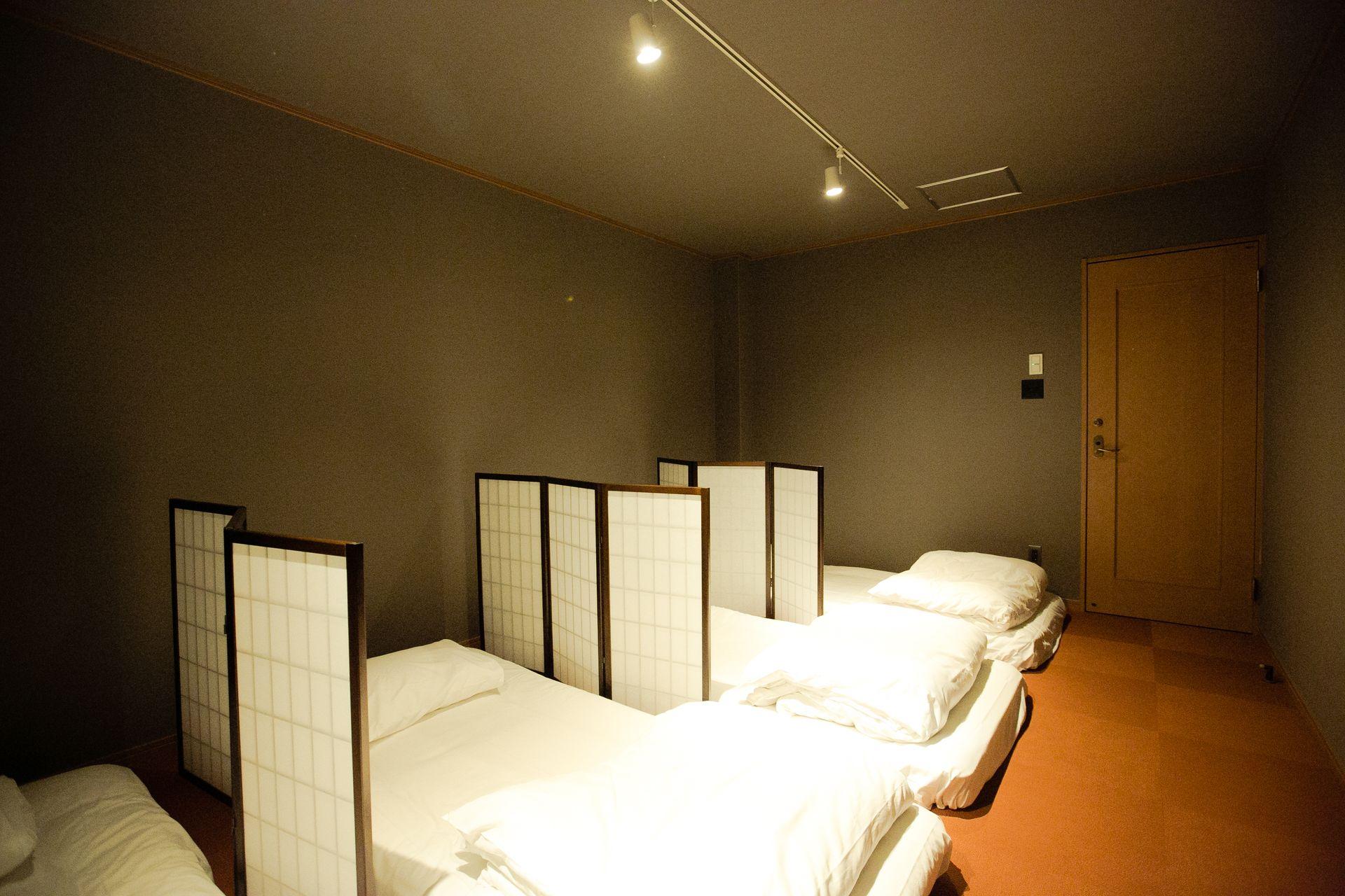 Hakata Minoshima Hostel FUTAGI, 福岡市, 個室部屋 (最大4名まで、布団提供、タイプA), 客室