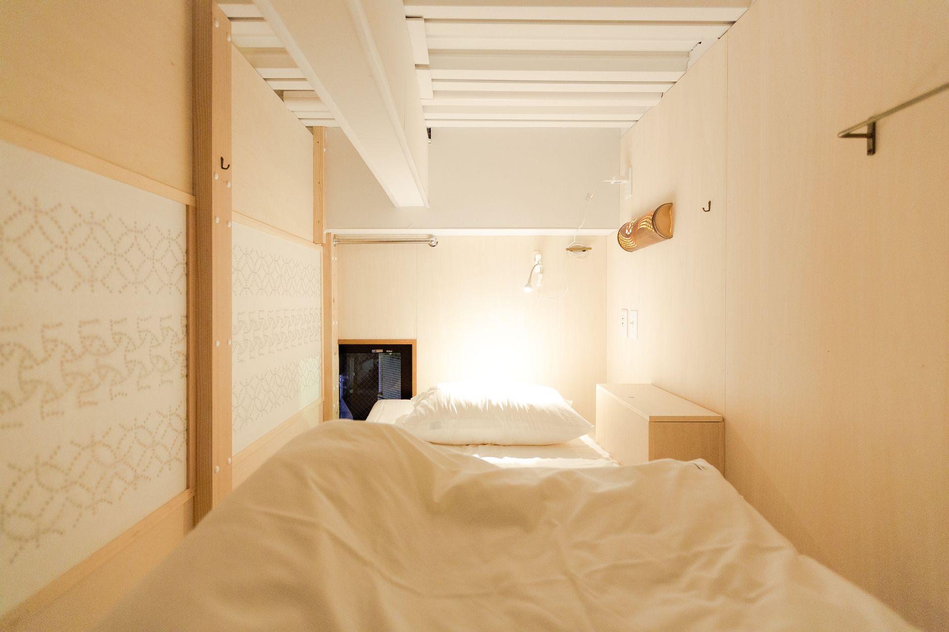 Hakata Minoshima Hostel FUTAGI, 福岡市, 6人用ドミトリー 【女性専用】, 客室