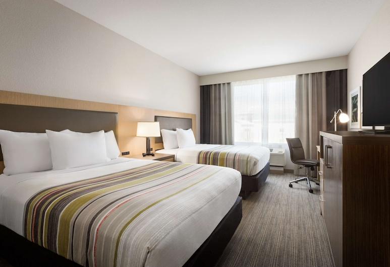 Country Inn & Suites by Radisson, New Braunfels, TX, New Braunfels, Studio suite, Meerdere bedden, niet-roken, Kamer