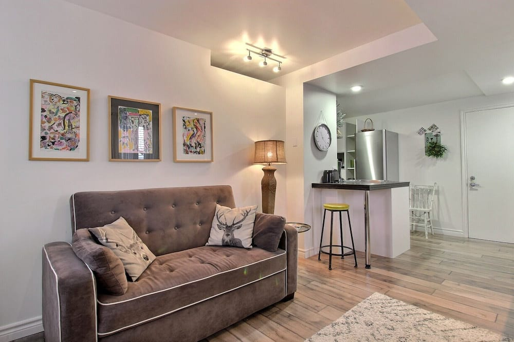 家庭公寓, 1 間臥室, 簡易廚房 (Prunus 140) - 客廳