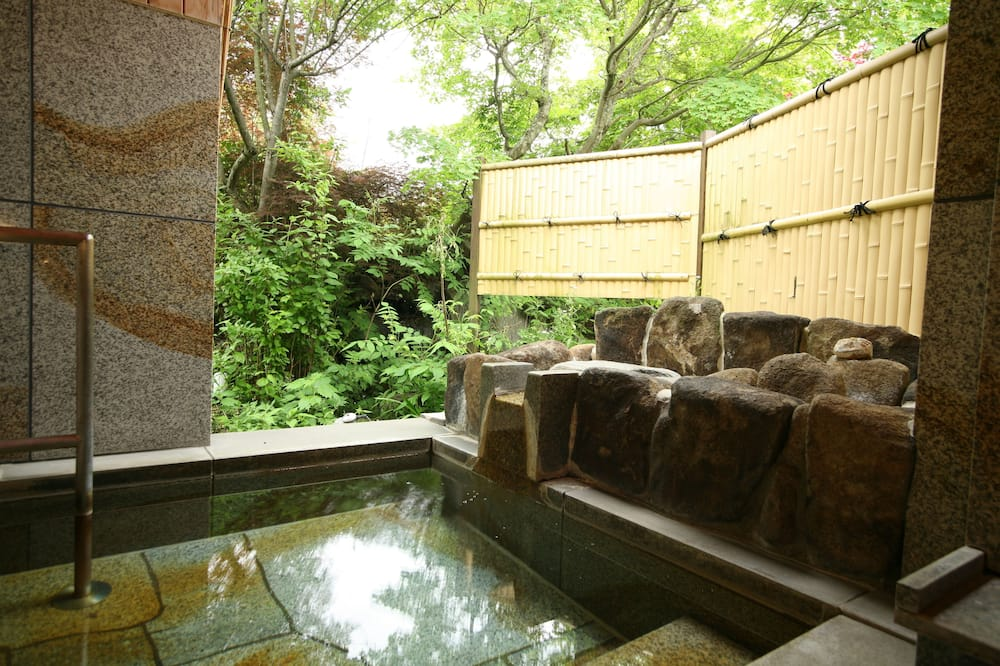 Japanese Western Style Room, New Building, Private Open Air Bath - Bathroom