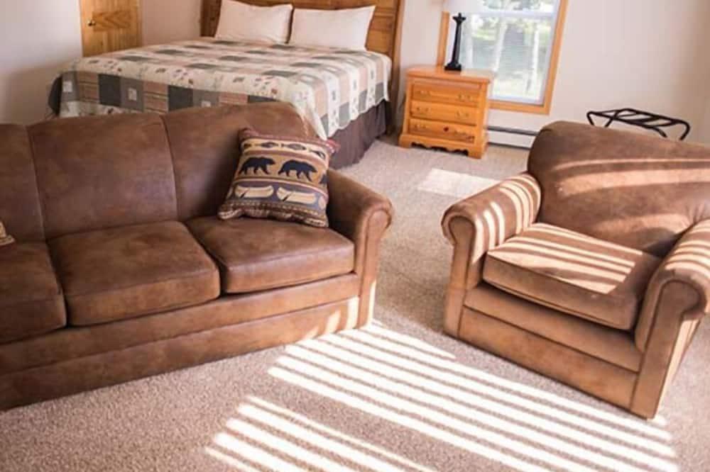 Appartamento, 1 letto king con divano letto - Area soggiorno