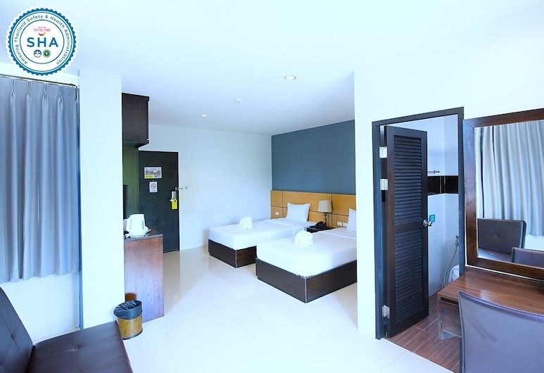 Lee Hotel, Surat Thani, Deluxe Twin Room, Habitación