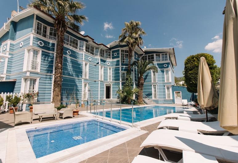 梅爾羅斯景觀飯店, 棉堡, 庭院
