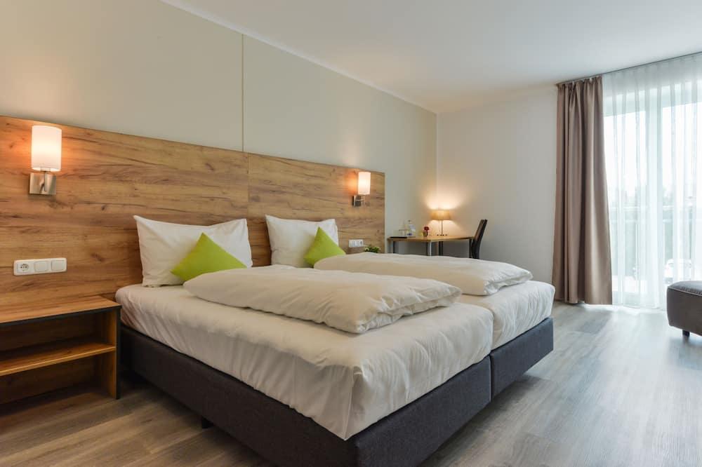 Business-dobbeltværelse til 1 person (Optional: Private Entrance) - Opholdsområde