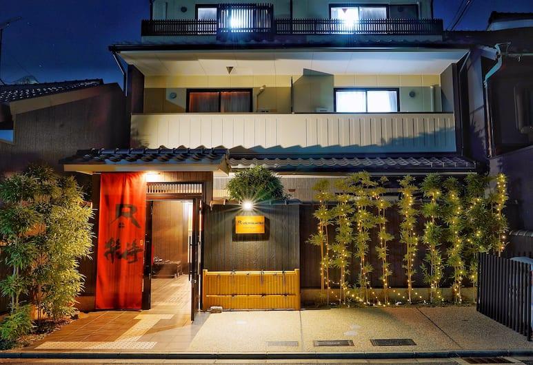 京都樂待飯店, Kyoto, 飯店正面