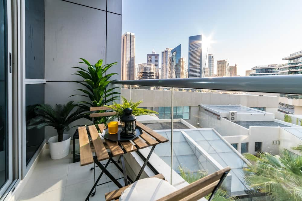 Exclusive Apartment, 1 Bedroom, City View - Terrace/Patio