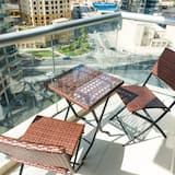 Classic Apartment, 2 Bedrooms, Marina View - Balcony