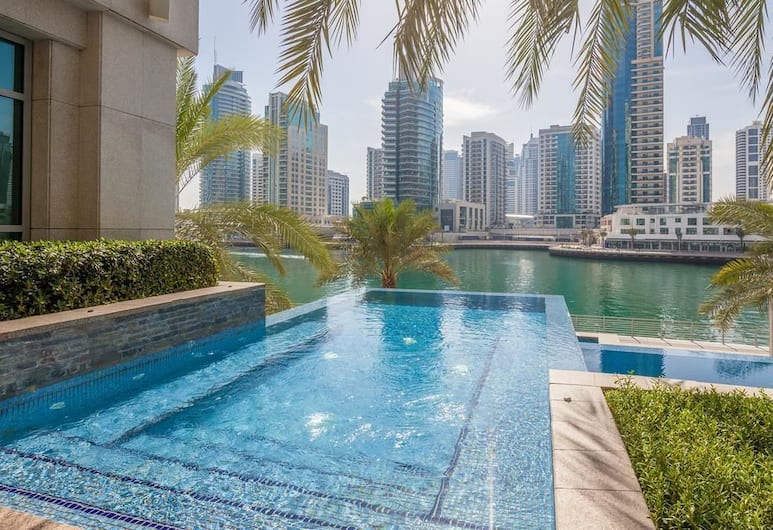 Dream Inn Dubai - Park Island, Dubajus, Baseinas