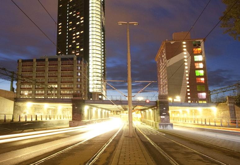 The Penthouse, The Hague, A szálláshely homlokzata