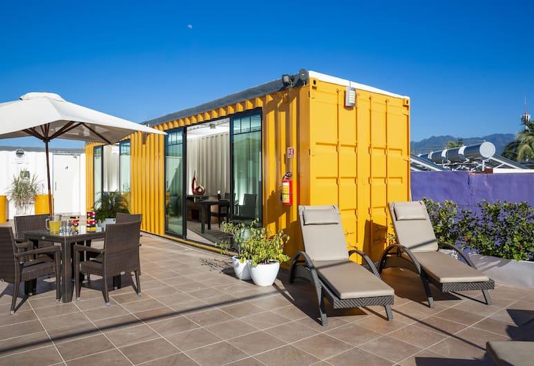 Container Inn, Puerto Vallarta, Terrace/Patio