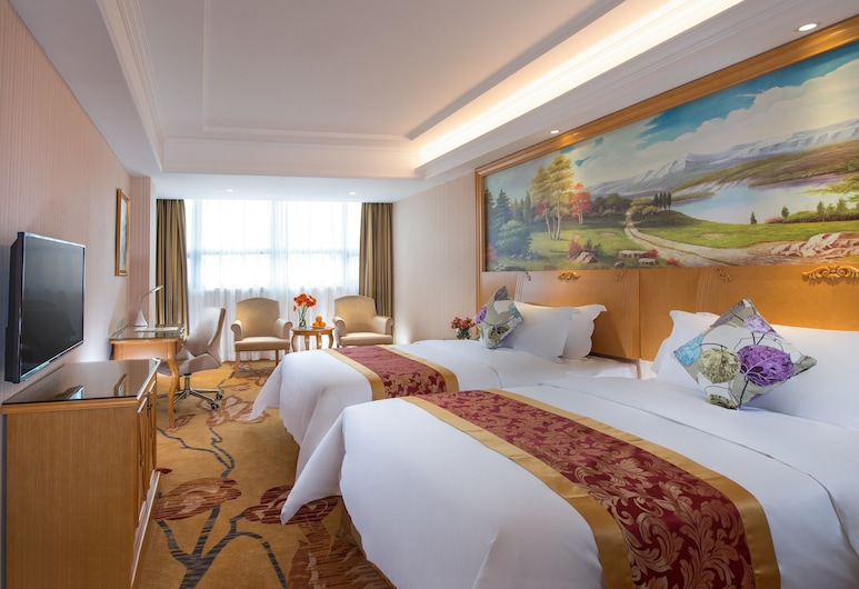 Vienna Hotel Shenzhen (FuYong metro station branch), Shenzhen, Kamar Twin Deluks, Kamar Tamu
