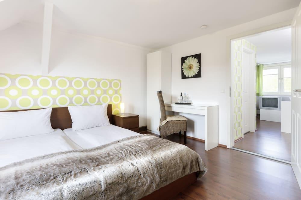 Vierbettzimmer, 2Schlafzimmer, Annex - Wohnbereich