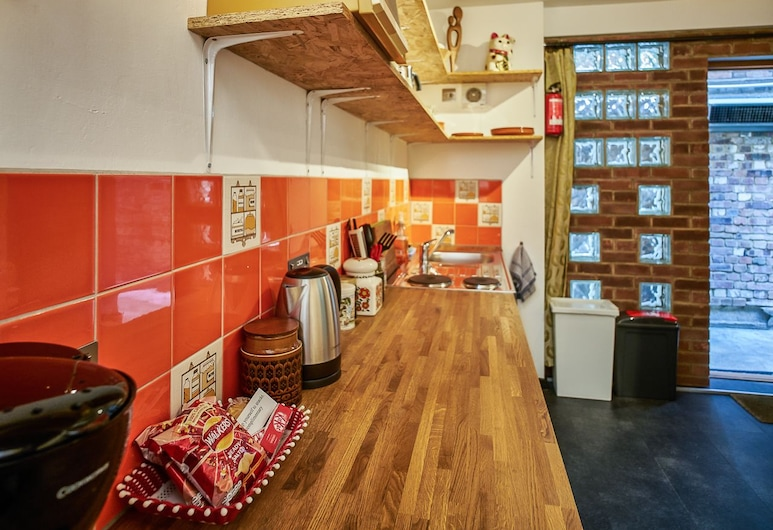 Soho Stables, London, Premium-Apartment, mit Bad, Zimmer