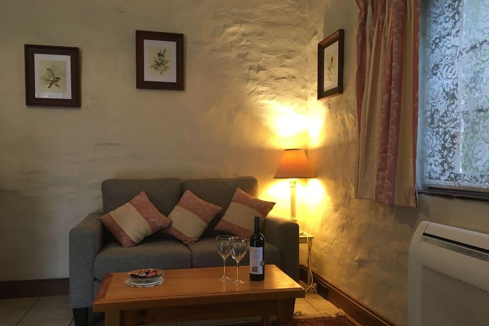 Romantický rekreační domek, 1 ložnice (Stables Cottage) - Obývací prostor