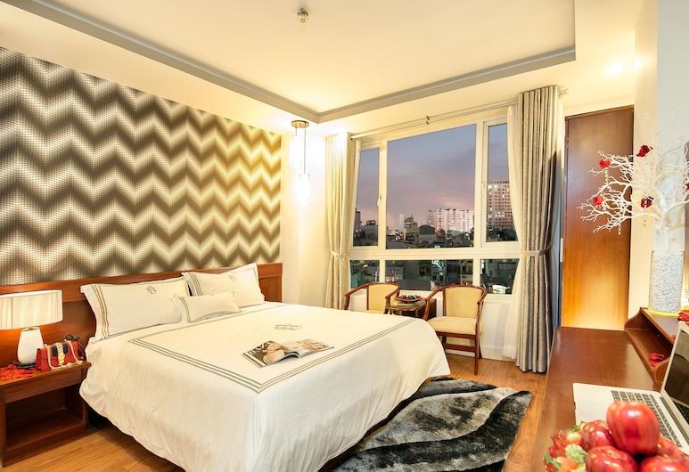 Ace Hotel Ben Thanh, Ho Chi Minh City, Deluxe Double Room, City View, Guest Room View