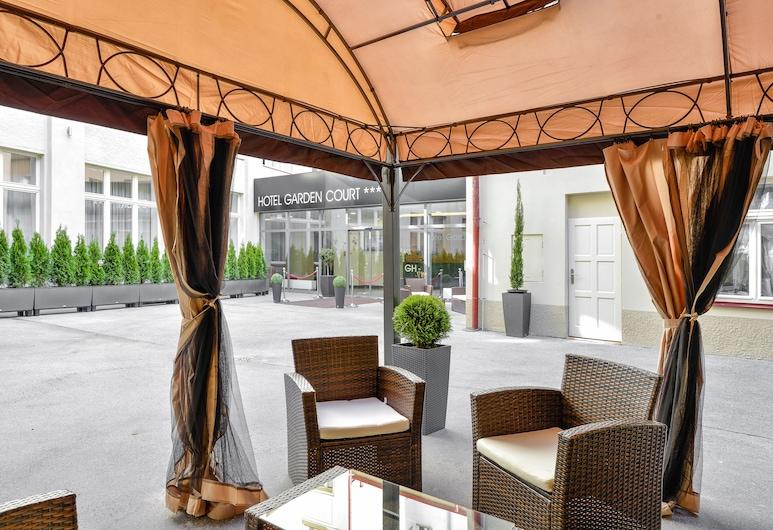 Hotel Garden Court, Praag, Terras
