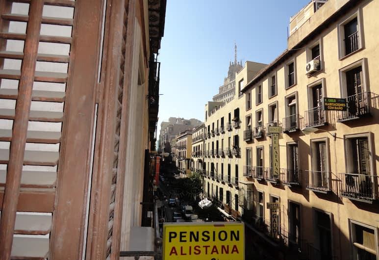 Hostal Alistana, Madrid, View from Hotel