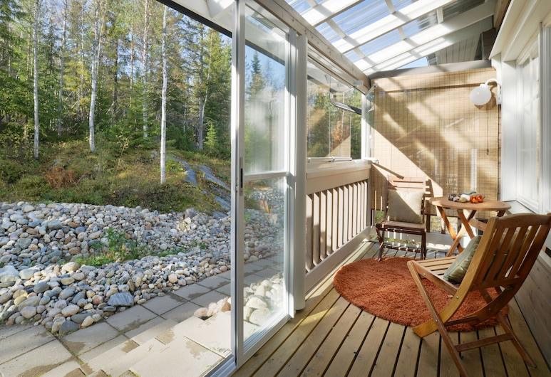 Vuokatin Aateli Apartments, Sotkamo, Superior Apartment 3, Sauna (Bed Linens Available for Extra Cost), Terrasse/Patio