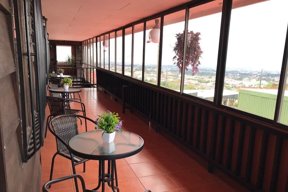 Panoramic Double Room, Terrace, City View - Balcony