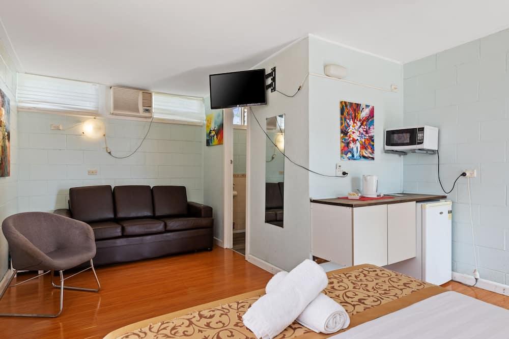 Comfort - kahden hengen huone, 1 keskisuuri parisänky - Oleskelualue