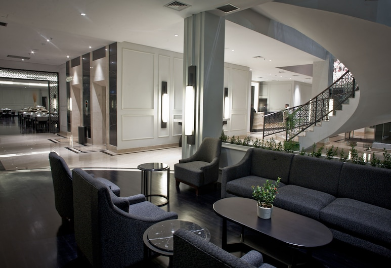 Samala Hotel Jakarta Cengkareng, Jakarta, Lobby Sitting Area