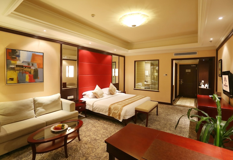 Qingdao Kuaitong International Hotel, Qingdao, Habitación ejecutiva con 2 camas individuales, Habitación