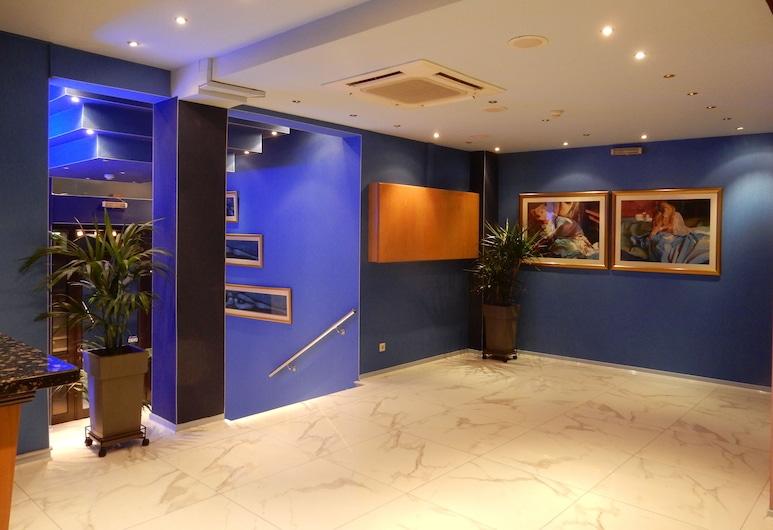 Athens Lydia Hotel, Atenas, Entrada (parte interna)