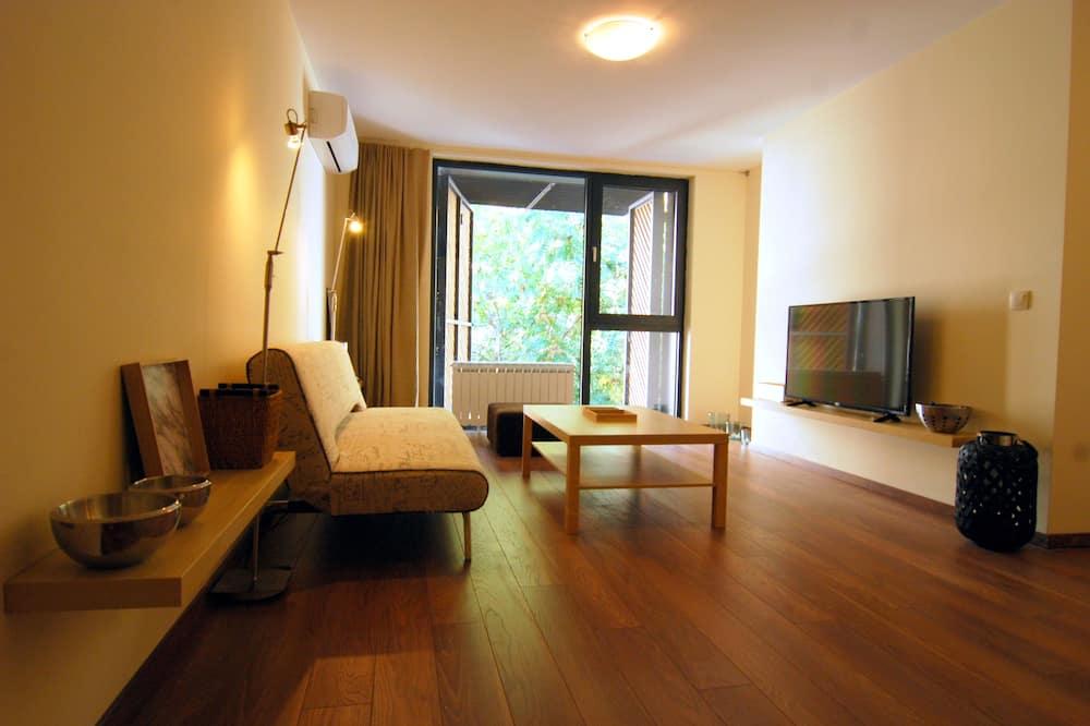 Departamento de diseño, 1 habitación - Sala de estar