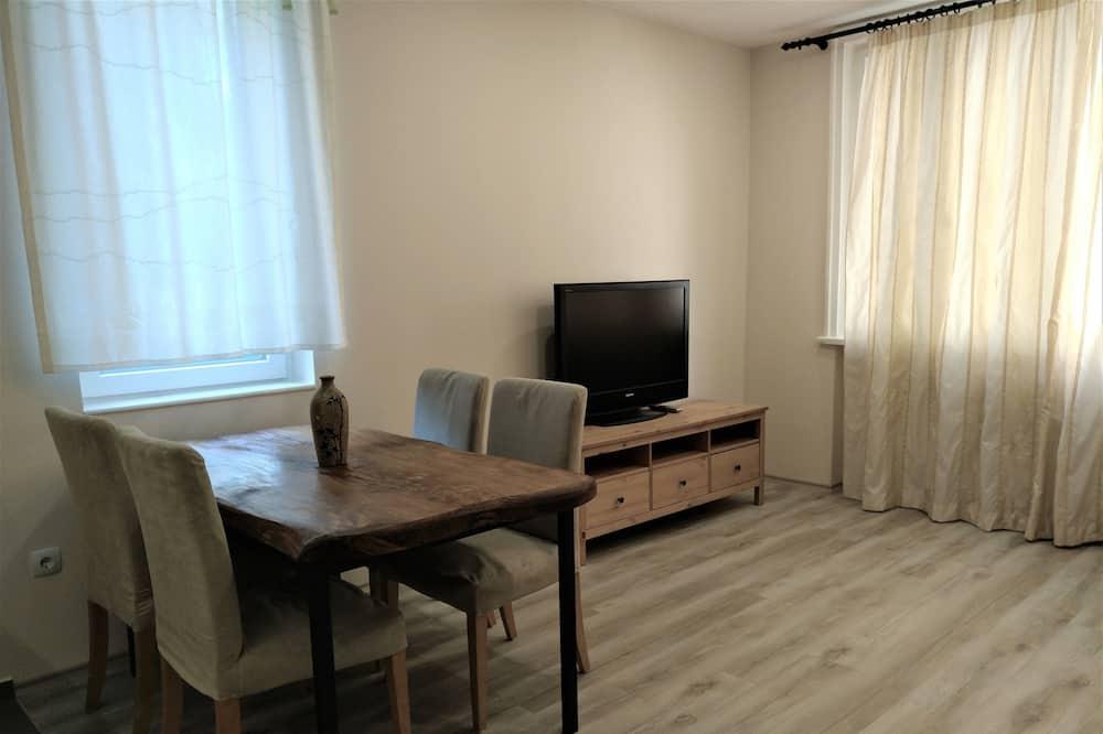 Designový apartmán, 1 ložnice - Obývací prostor