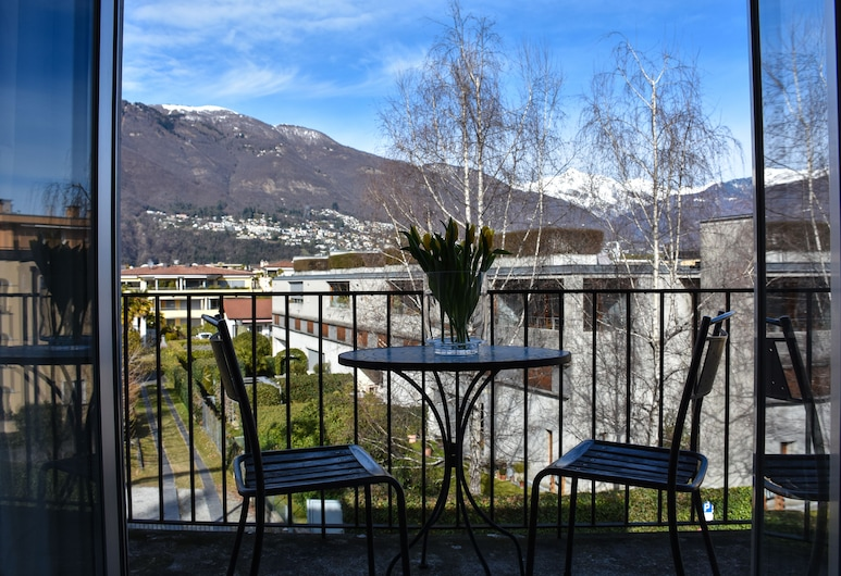 Albergo Mirador, Ascona, Dvoulůžkový pokoj, balkon, Balkón