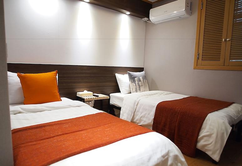 Hotel Park Hill Myeongdong, Seulas, Standartinio tipo dvivietis kambarys (2 viengulės lovos), Svečių kambarys