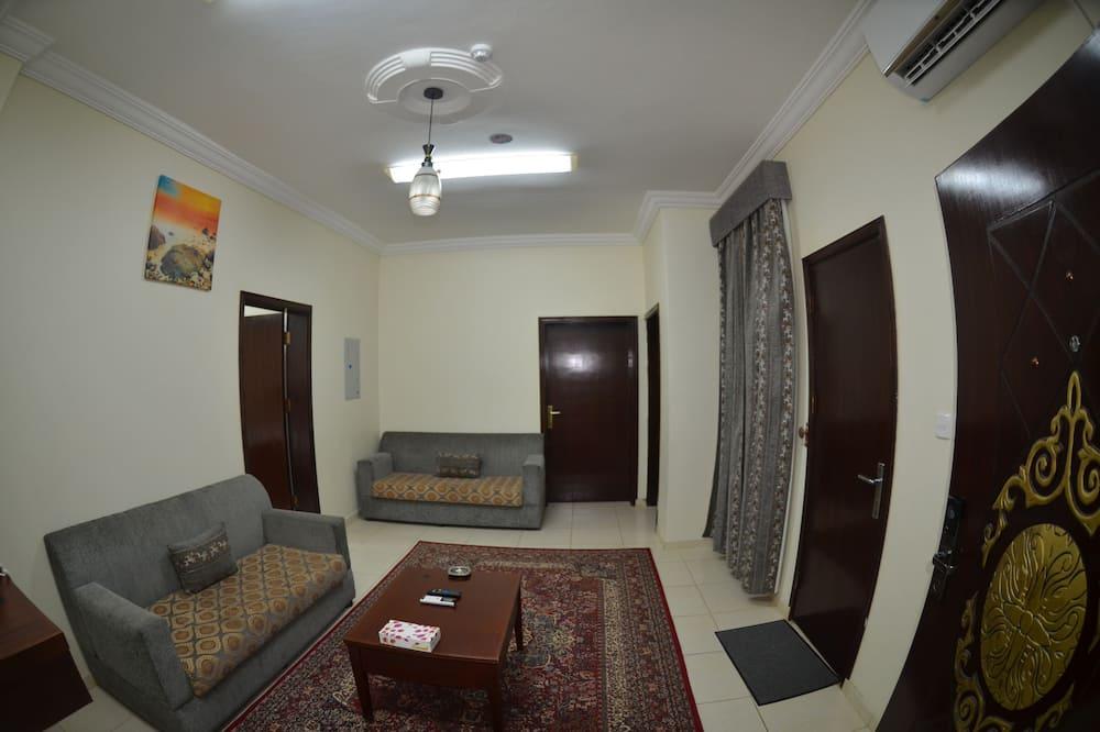 Family Süit, 1 Yatak Odası, Sigara İçilebilir - Oturma Alanı