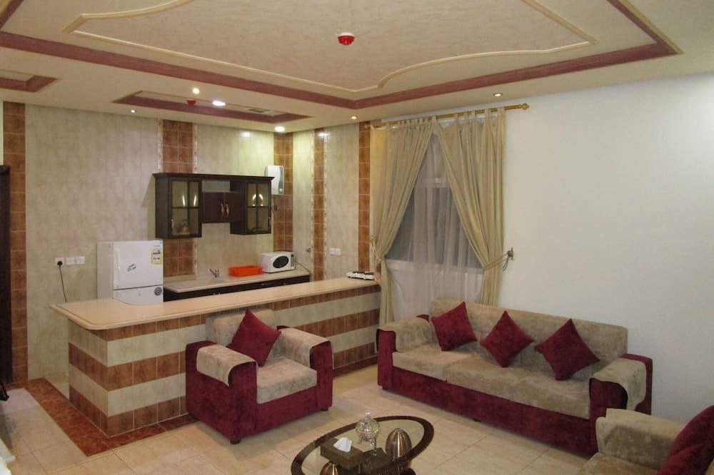 Familien-Suite, 2Schlafzimmer - Wohnbereich
