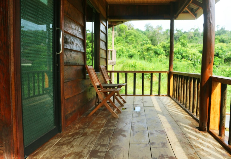 Golden Bungalows, Koh Rong, Double Room with Fan, Balcony