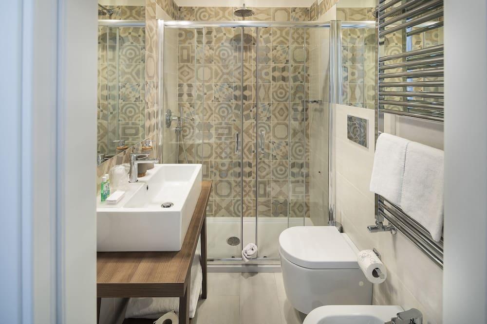 Dobbeltværelse (Violet) - Badeværelse