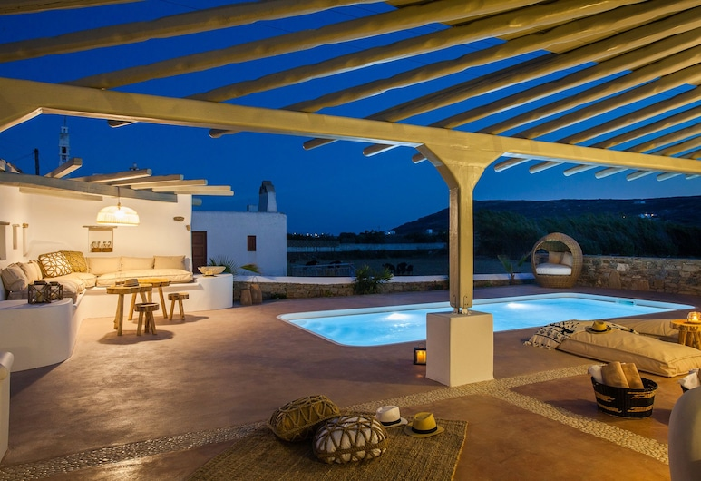 Olive Mykonos Villas,  Μύκονος, Executive Βίλα, Ιδιωτική Πισίνα, Αίθριο/βεράντα