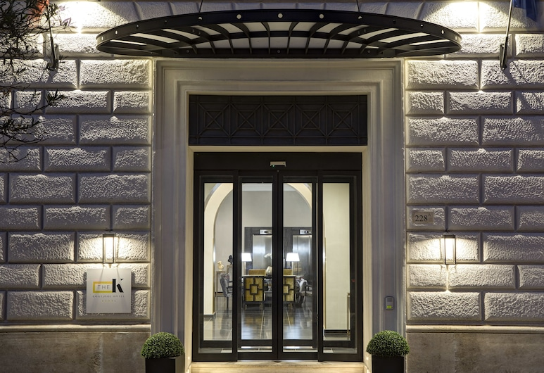 The K Boutique Hotel, Rome, Hotel Entrance
