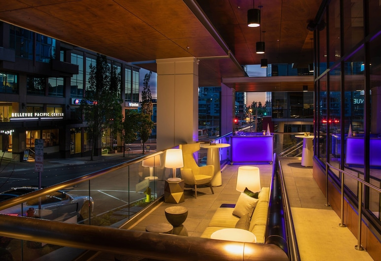 AC Hotel by Marriott Seattle Bellevue/Downtown, Bellevue, Terraza o patio