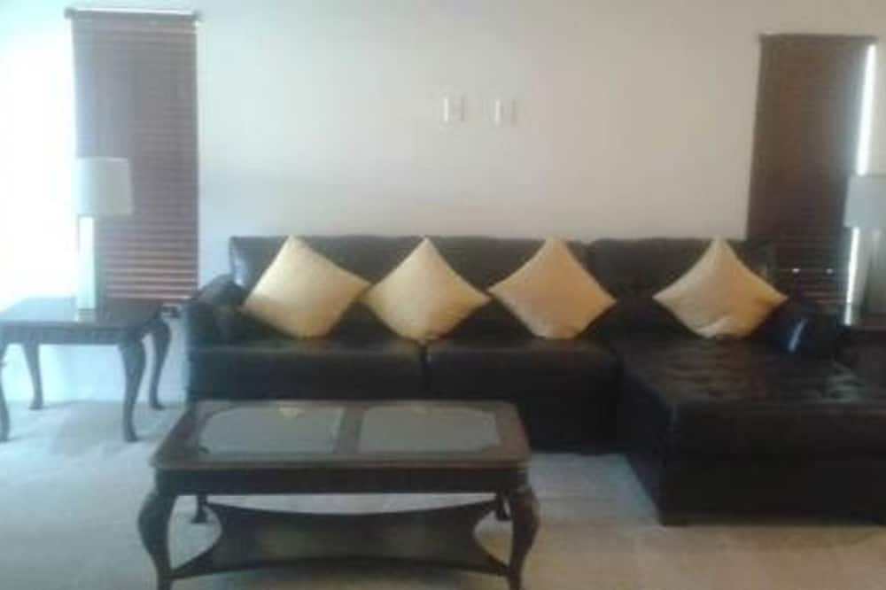 Hus - privat badeværelse (vacation home) - Stue