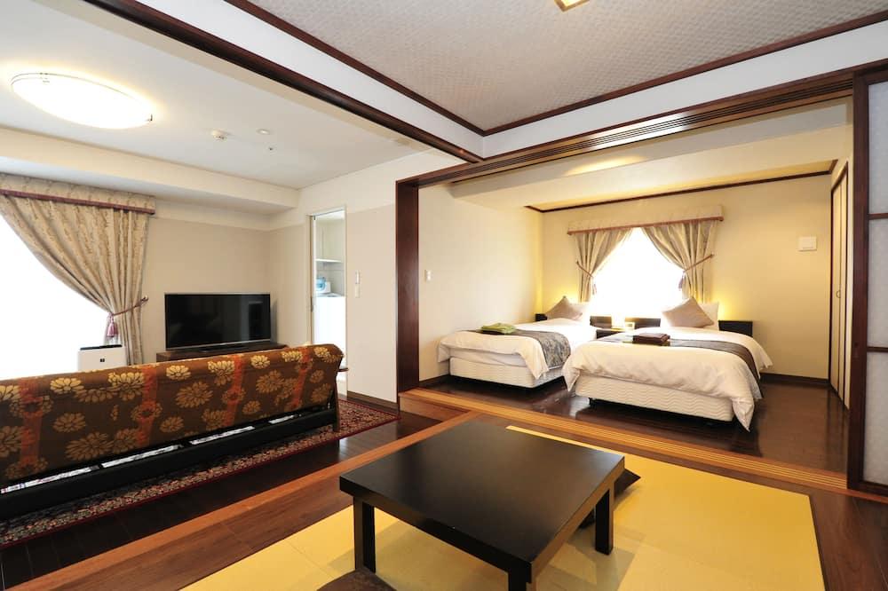 Kambarys, Nerūkantiesiems, priestatas (Japanese Western Style, 13-14F) - Svečių kambarys